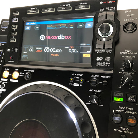 Pioneer DJ CDJ2000nxs2 10 screen