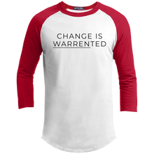 Load image into Gallery viewer, Change is Warrented Classic Fit 3/4 Sleeve Colorblock T-Shirt-T-Shirts-plussizefor