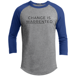 Change is Warrented Classic Fit 3/4 Sleeve Colorblock T-Shirt-T-Shirts-plussizefor