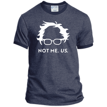 Load image into Gallery viewer, Not Bernie. Us. Classic Fit Ringer T-Shirt-T-Shirts-plussizefor