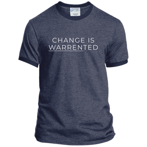 Change is Warrented Classic Fit Ringer T-Shirt-T-Shirts-plussizefor