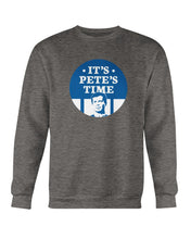Load image into Gallery viewer, It's Pete's Time Crewneck Sweatshirt-Sweatshirts-plussizefor