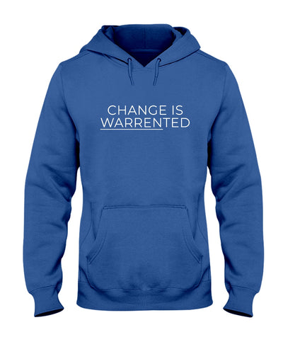 Change is Warrented Classic Fit Pullover Hooded Sweatshirt-Sweatshirts-plussizefor