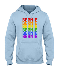 Bernie PRIDE Classic Fit Pullover Hooded Sweatshirt