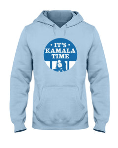 It's Kamala Time Classic Fit Pullover Hooded Sweatshirt-Sweatshirts-plussizefor
