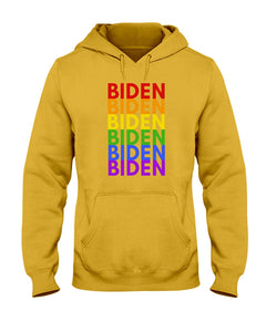 Biden PRIDE Classic Fit Pullover Hooded Sweatshirt