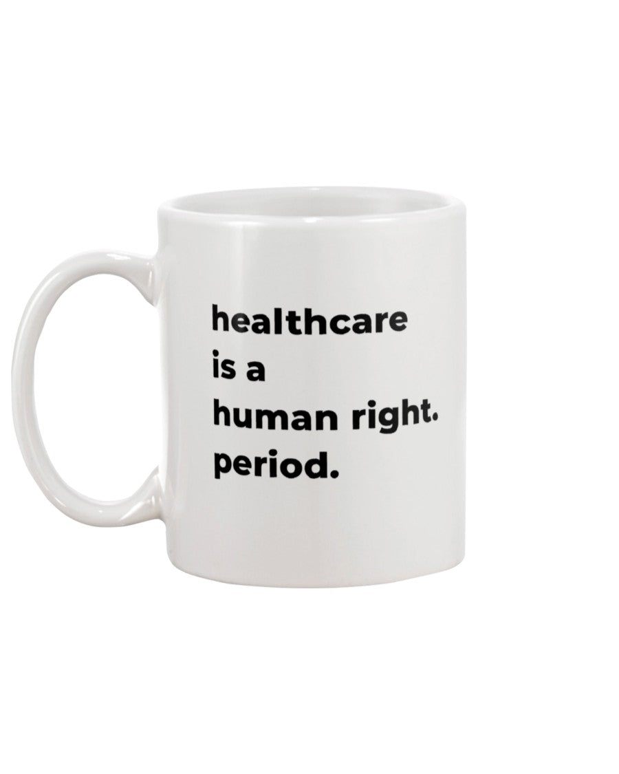 Healthcare Is A Human Right Extra Large White Mug-Mugs-plussizefor