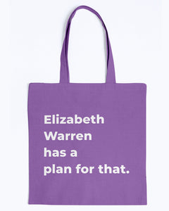 Elizabeth Warren Has A Plan For That Canvas Tote-Accessories-plussizefor