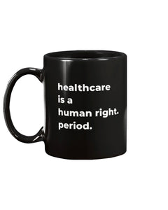 Healthcare Is A Human Right Extra Large Black Mug-Mugs-plussizefor