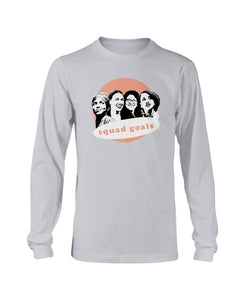 Squad Goals Classic Fit Long Sleeve T-Shirt-Shirts-plussizefor