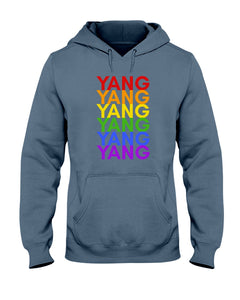 Yang PRIDE Classic Fit Pullover Hooded Sweatshirt