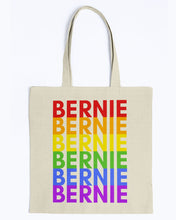 Load image into Gallery viewer, Bernie PRIDE Canvas Tote