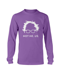Not Bernie. Us. Classic Fit Long Sleeve T-Shirt-Shirts-plussizefor