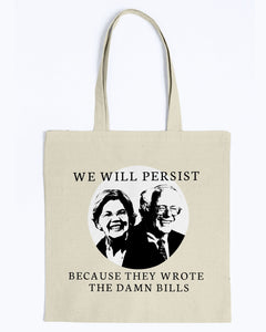 Warren/Sanders Mashup Canvas Tote