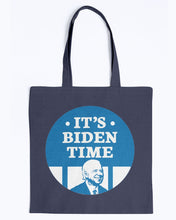 Load image into Gallery viewer, It's Biden Time Canvas Tote-Accessories-plussizefor