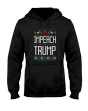 Load image into Gallery viewer, Impeach Trump Classic Fit Pullover Hooded Sweatshirt