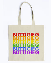 Load image into Gallery viewer, Buttigieg PRIDE Canvas Tote