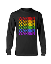 Load image into Gallery viewer, Warren PRIDE Classic Fit Long Sleeve T-Shirt