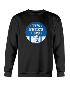 It's Pete's Time Crewneck Sweatshirt-Sweatshirts-plussizefor