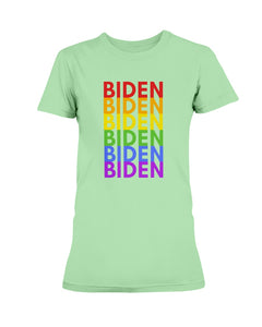 Biden PRIDE Fitted Short Sleeve T-Shirt