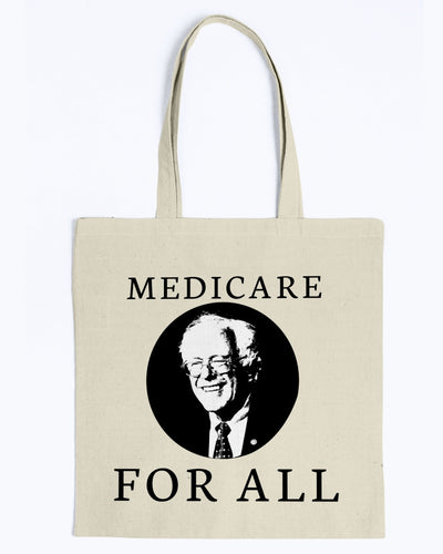 Medicare For All Canvas Tote