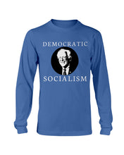 "Load image into Gallery viewer, ""Democratic Socialism"" Classic Fit Long Sleeve T-Shirt"