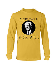 Load image into Gallery viewer, Medicare For All Classic Fit Long Sleeve T-Shirt
