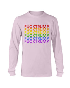 F*ck Trump PRIDE Classic Fit Long Sleeve T-Shirt