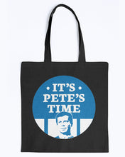 Load image into Gallery viewer, It's Pete's Time Canvas Tote-Accessories-plussizefor