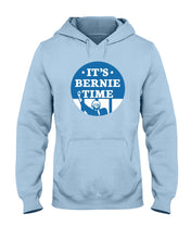Load image into Gallery viewer, It's Bernie Time Classic Fit Pullover Hooded Sweatshirt-Sweatshirts-plussizefor