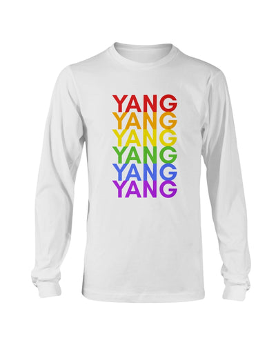 Yang PRIDE Classic Fit Long Sleeve T-Shirt