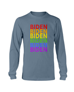 Biden PRIDE Classic Fit Long Sleeve T-Shirt