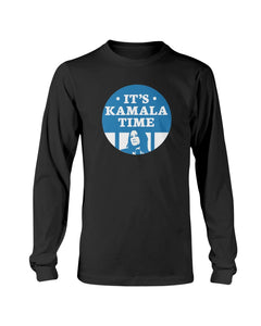 It's Kamala Time Classic Fit Long Sleeve T-Shirt-Shirts-plussizefor