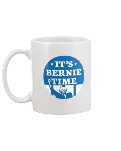 It's Bernie Time Extra Large White Mug-Mugs-plussizefor