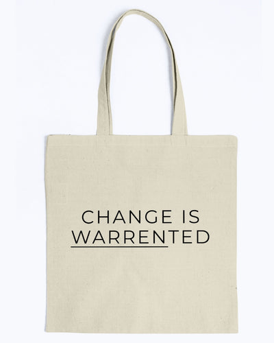 Change is Warrented Canvas Tote-Accessories-plussizefor