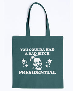 """You Coulda Had a Bad B*tch"" Warren Canvas Tote"