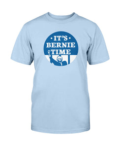 It's Bernie Time Classic Fit Tagless T-Shirt-Shirts-plussizefor