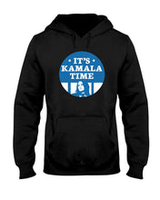 Load image into Gallery viewer, It's Kamala Time Classic Fit Pullover Hooded Sweatshirt-Sweatshirts-plussizefor