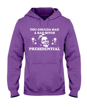 "Load image into Gallery viewer, ""You Coulda Had a Bad B*tch"" Warren Classic Fit Pullover Hooded Sweatshirt"