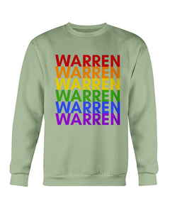 Warren PRIDE Crewneck Sweatshirt