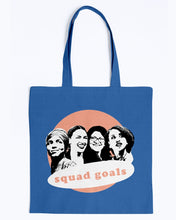 Load image into Gallery viewer, Squad Goals Canvas Tote-Accessories-plussizefor