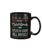 Load image into Gallery viewer, Merry Christmas and Epstein Didn't Kill Himself Extra Large Mug