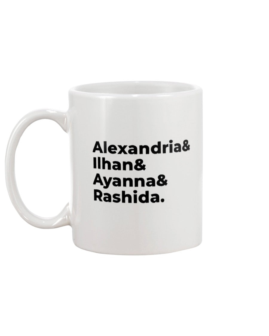 The Squad Extra Large White Mug-Mugs-plussizefor