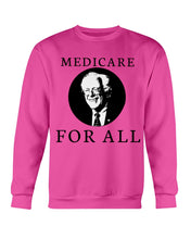 Load image into Gallery viewer, Medicare For All Crewneck Sweatshirt