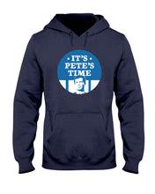 Load image into Gallery viewer, It's Pete's Time Classic Fit Pullover Hooded Sweatshirt-Sweatshirts-plussizefor