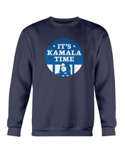 Load image into Gallery viewer, It's Kamala Time Crewneck Sweatshirt-Sweatshirts-plussizefor