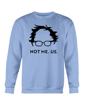 Load image into Gallery viewer, Not Bernie. Us. Classic Fit Crewneck Sweatshirt-Sweatshirts-plussizefor