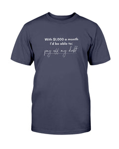 Pay Off My Debt with Universal Basic Income Classic Fit Tagless T-Shirt