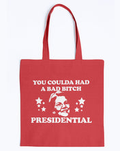 "Load image into Gallery viewer, ""You Coulda Had a Bad B*tch"" Warren Canvas Tote"
