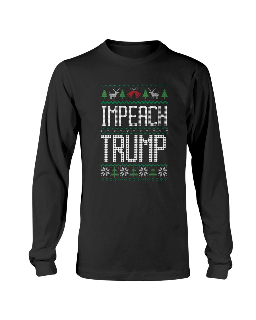 Impeach Trump Classic Fit Long Sleeve T-Shirt